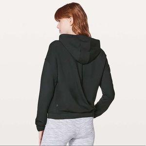 Lululemon Twisted & Tucked Pullover Black Hoodie 4